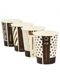 10oz Compostable Bamboo Single Wall Cup