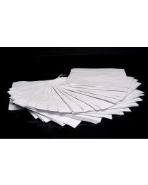 12x12 White Sulphite Bags
