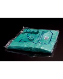Large Green Vest Carrier Bag - Jade