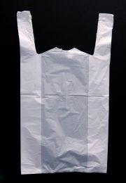 Giant White Vest Carrier Bag - Giant
